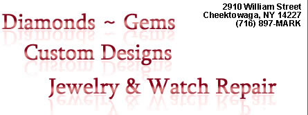 Diamonds, Gems, Custom Designs, Jewelry & Watch Repair